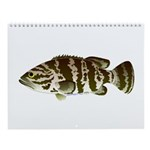 A Year of Keys fish Wall Calendar