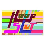 HoopSlut Sticker (Rectangle)
