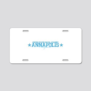USNAannapolis Aluminum License Plate