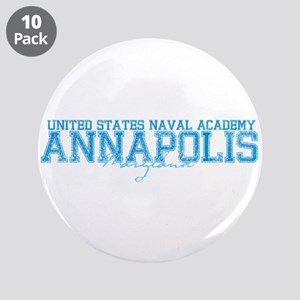 "USNAannapolis 3.5"" Button (10 pack)"