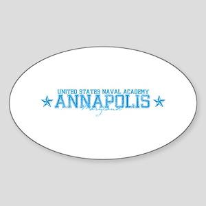 USNAannapolis Sticker (Oval)