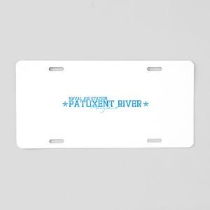 NASpaxriver Aluminum License Plate