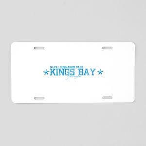 NSBkingsbay Aluminum License Plate