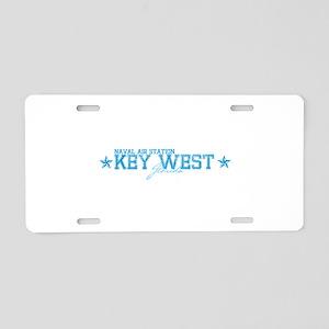 NASkeywest Aluminum License Plate