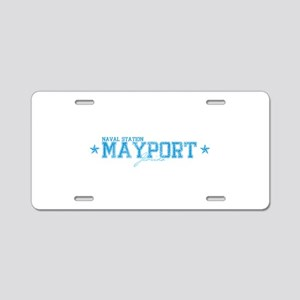 NSmayport Aluminum License Plate
