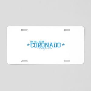 NBcoronado Aluminum License Plate