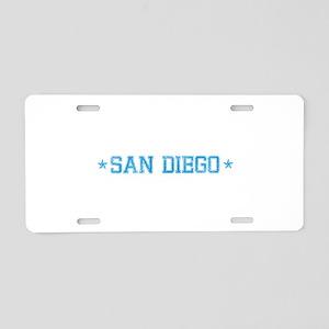 base_sandiego_N Aluminum License Plate