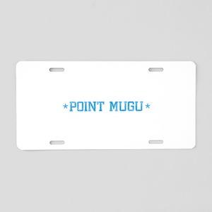 base_pointmugu_N Aluminum License Plate
