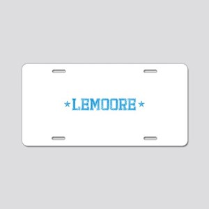 base_lemoore_N Aluminum License Plate
