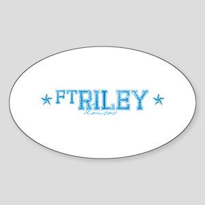 base_ftriley Sticker (Oval)