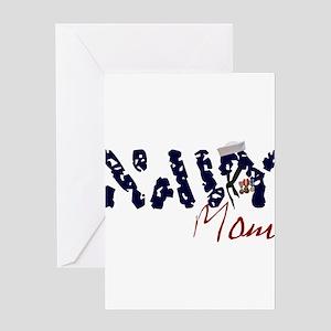navymom Greeting Card