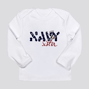 navysister Long Sleeve Infant T-Shirt