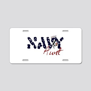navyaunt Aluminum License Plate