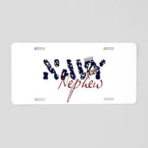 navynephew Aluminum License Plate