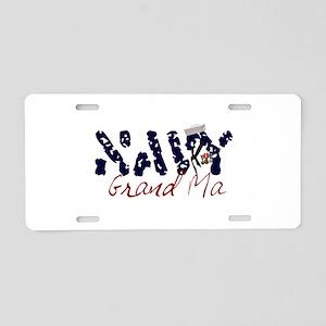 navygrandma Aluminum License Plate
