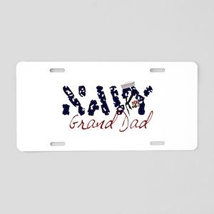 navygranddad Aluminum License Plate