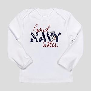 proudnavysister Long Sleeve Infant T-Shirt