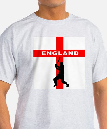 England Cricket Ash Grey T-Shirt