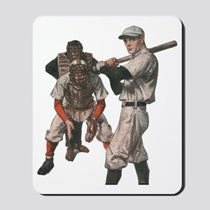 Vintage Sports Baseball Mousepad