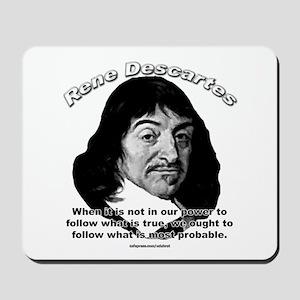 René Descartes 01 Mousepad