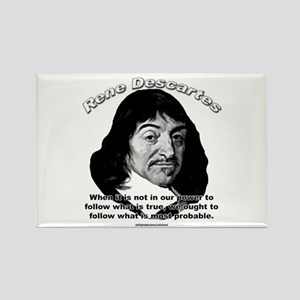 René Descartes 01 Rectangle Magnet