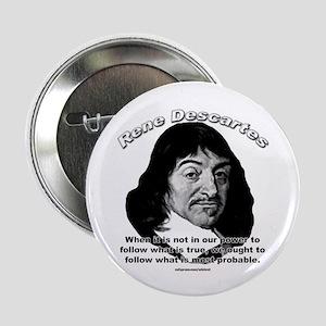 René Descartes 01 Button