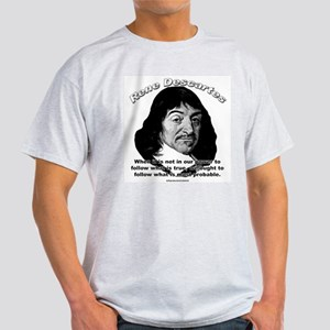 René Descartes 01 Ash Grey T-Shirt