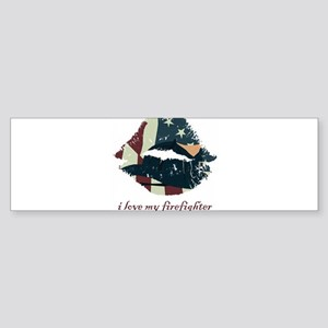 firefighterkiss Sticker (Bumper)