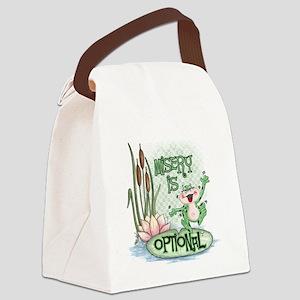 Froggie Canvas Lunch Bag