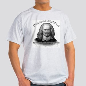 Thomas Hobbes 01 Ash Grey T-Shirt