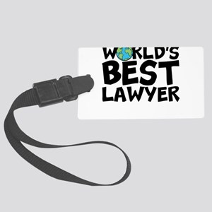World's Best Lawyer Luggage Tag