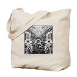 Tribal Art BW Tote Bag