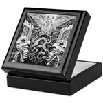 Tribal Art BW Keepsake Box