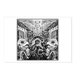 Tribal Art BW Postcards (Package of 8)