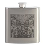 Tribal Art BW Flask