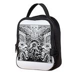 Tribal Art BW Neoprene Lunch Bag