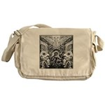 Tribal Art BW Messenger Bag