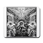 Tribal Art BW Mousepad