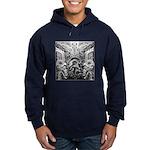 Tribal Art BW Hoodie (dark)