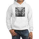 Tribal Art BW Hooded Sweatshirt