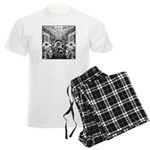 Tribal Art BW Men's Light Pajamas