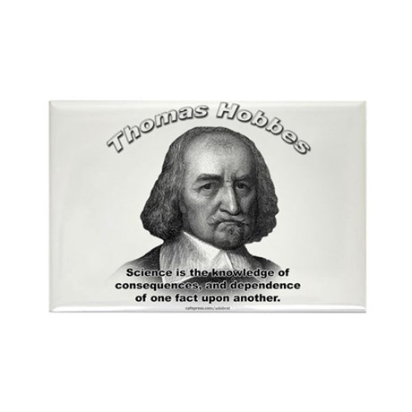 Thomas Hobbes 02 Rectangle Magnet (10 pack)