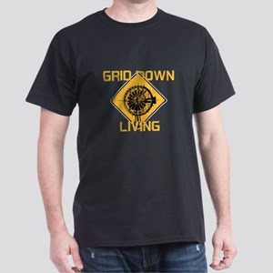 Grid Down Living Dark T-Shirt