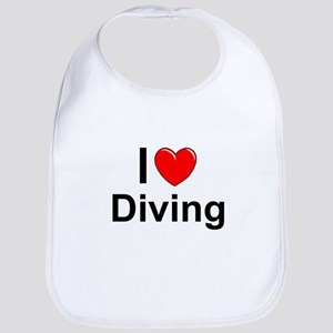 Diving Cotton Baby Bib