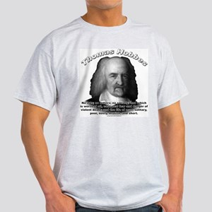 Thomas Hobbes 03 Ash Grey T-Shirt