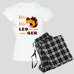 LEO Says GER Women's Light Pajamas