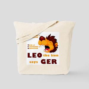 LEO Says GER Tote Bag