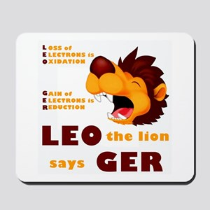 LEO Says GER Mousepad