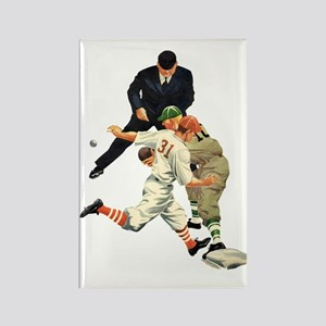 Vintage Sports Baseball Rectangle Magnet