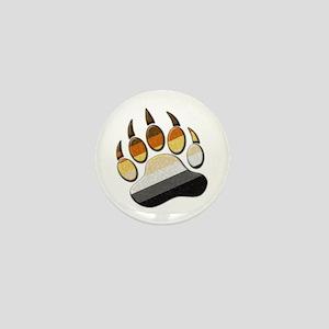 Bear Paw Mini Button
